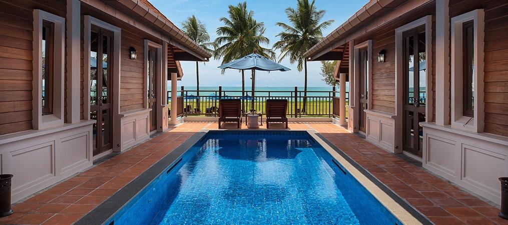 Two Bedroom Pool Villa Beachfront